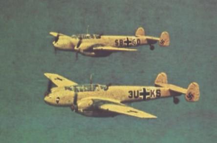 Luftwaffe Nachtflieger  - 1939 à Primavera de 1942  Me110C-8